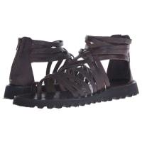 Massimo MatteoBack Zip Gladiator (T.Moro) Mens Sandals