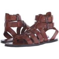Massimo MatteoBuckle Strap Gladiator (Cuoio) Mens Sandals