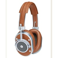 Master & DynamicMH40 Noise-Isolating Over-Ear Headphones, Cognac/Silvertone