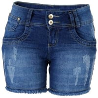 Max JeansShorts Jeans Feminino Max Denim
