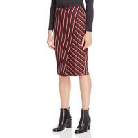 Max MaraCandore Asymmetric Stripe Pencil Skirt