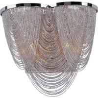 Maxim LightingMaxim Lighting Chantilly Wall Lamp Lighting Fixture in Polished Nickel