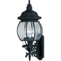 Maxim LightingMaxim Lighting Crown Hill Outdoor Wall Mount Light Fixture in Black