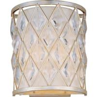 Maxim LightingMaxim Lighting Diamond Wall Sconce in Golden Silver