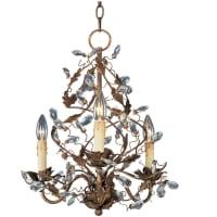 Maxim LightingMaxim Lighting Elegante 1 Tier Chandelier in Etruscan Gold