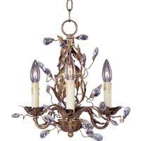 Maxim LightingMaxim Lighting Elegante Mini Chandelier in Etruscan Gold