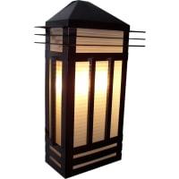 Maxim LightingMaxim Lighting Gatsby Outdoor Deck Lantern in Burnished