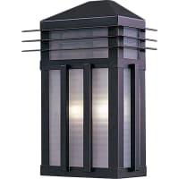 Maxim LightingMaxim Lighting Gatsby Outdoor Wall Mount Light Fixture in Burnished