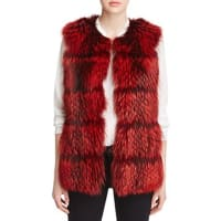 Maximilian FursCollarless Fox Fur Vest