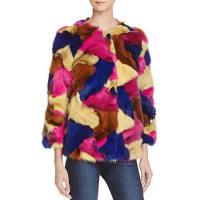 Maximilian FursFox Fur Patchwork Jacket - Bloomingdales Exclusive