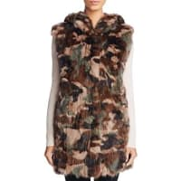 Maximilian FursSable Fur Camo Vest