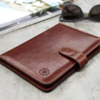 Maxwell ScottItalian Leather Travel Document Wallet. The Vieste