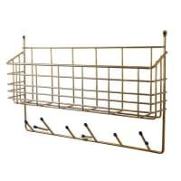 MazeMitten Shelf brass