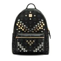 MCMStark M Stud Medium Backpack