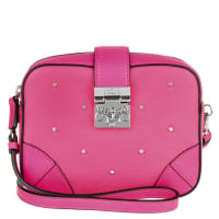 MCMUmhängetaschen - Claudia Studs Medium Crossbody Beetroot Pink - in pink für Damen