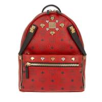 MCMUmhängetaschen - Dual Stark Backpack Small Ruby Red - in rot für Damen