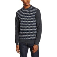 MercRoxby, Suéter para Hombre, Gris (Marl Charcoal), Medium