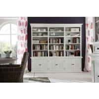Meuble HouseGrande bibliothèque blanche Cygne