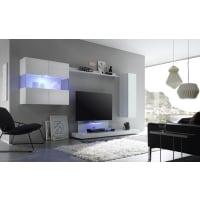 Meuble HouseEnsemble meuble TV laqué blanc New box