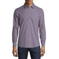 Michael KorsGunnar Tailored-Fit Check Sport Shirt
