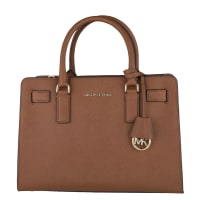 Michael KorsHandtassen-Dillon Top Zip EW Satchel-Bruin