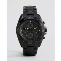 Michael KorsJetmaster Stainless Steel Bracelet Watch In Black MK8517 - Black