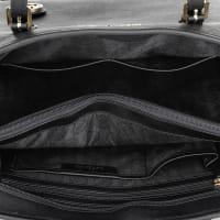 Michael KorsMICHAEL Michael Kors Jet Set Travel MD TZ Multifunctional Tote Black Bag in black