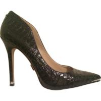 Michael KorsPre-Owned - Black Exotic leathers Heels