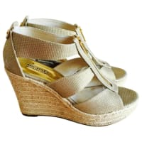 Michael KorsPre-Owned - Linen wedge sandals