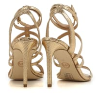 Michael KorsSandals for Women, Gold, Leather, 2016, 6 7 8 9