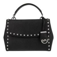 Michael KorsUmhängetaschen - Ava Stud Small Tophandle Satchel Black - in schwarz für Damen