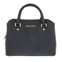 Michael KorsSchoudertassen - Savannah SM Leather Satchel Admiral in blauw voor dames