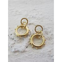Minc CollectionsWomens Minc Collections Gold Link Earrings Gold One Size