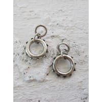 Minc CollectionsWomens Minc Collections Silver Link Earrings Silver One Size