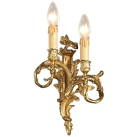 MinkaMetropolitan Sconces Wall Lamp Lighting Fixture in Antique French Gold