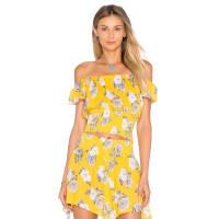 MinkpinkSpread Like Wildflowers Top in Yellow