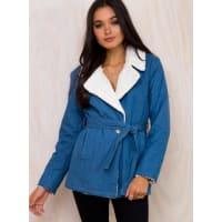 MinkpinkWomens Minkpink Hustler Denim Jacket Blue M/12