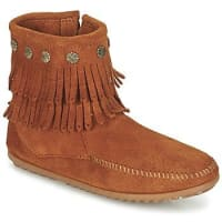 MinnetonkaDOUBLE FRINGE SIDE ZIP BOOT