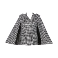 MinuetoMantos - 162052 sherlock cape - Negro