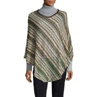 MissoniCrochet V-neck Poncho