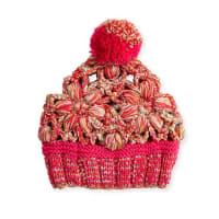 MissoniFloral Wool Beanie, Pink