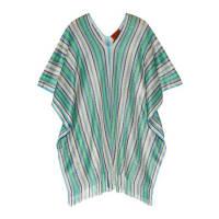 MissoniFringed Metallic Crochet-knit Poncho - Green