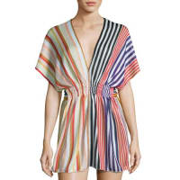 MissoniStriped Knit Beach Dress, Multi