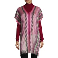 MissoniV-Neck Poncho