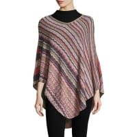 MissoniWavy Cotton Poncho