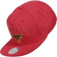 Mitchell & NessLux Arch Chicago Bulls Snapback rojo