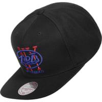 Mitchell & NessWool Solid New York Nets Snapback negro