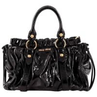 Miu MiuEast West Satchel Patent Medium