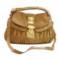 Miu MiuPre-Owned - Brown Leather Handbag Matelassé