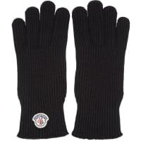 MonclerBlack Gloves